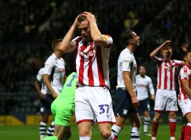 Stoke defender Nathan Collins.