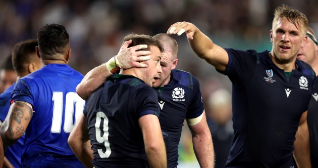As it happened: Scotland v Samoa, Rugby World Cup