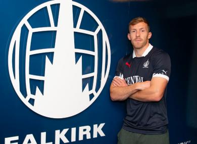 McMillan will hope for regular game-time at Falkirk.