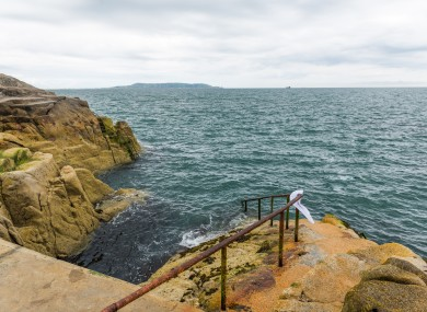 File photo - Forty Foot, Dublin