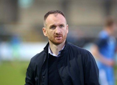 St Patrick's Athletic manager Stephen O'Donnell.