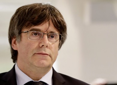Charles Puigdemont