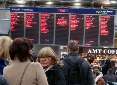 Heston Station in Dublin