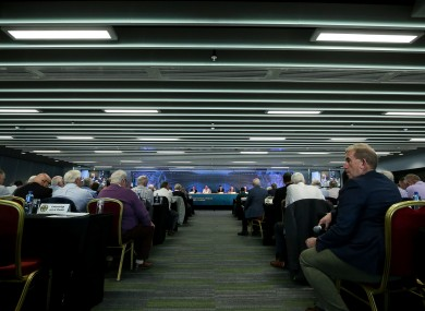 A general view of the GAA Congress on Leeside.