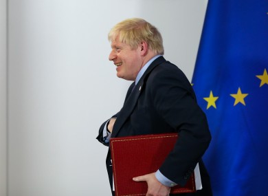 The Letwin amendment will be opposed by Boris Johnson.