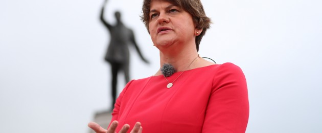 This week has not been good for Arlene Foster.