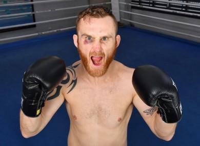Boxer Dennis Hogan (file pic).