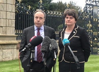 The DUP has promised to vote against the Brexit deal.