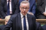 Michael Gove speaking in the House of Commons yesterday.