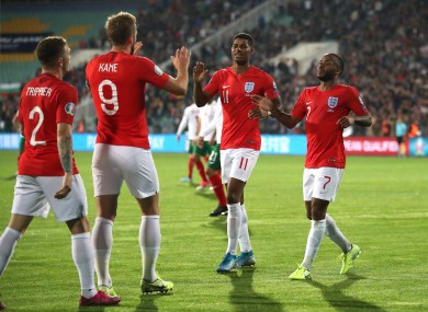 England secured a comprehensive win in Sofia.