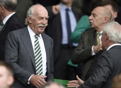 Desmond is the majority shareholder of Celtic FC.