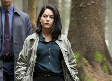 Sarah Greene stars with Killian Scott in Dublin Murders.