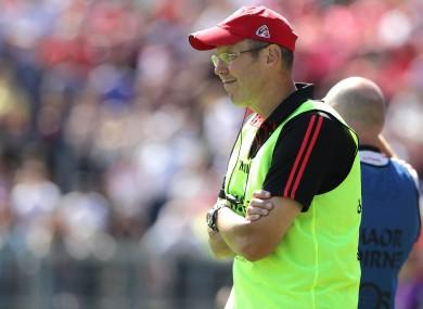 Former Down manager Eamonn Burns.