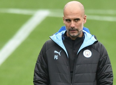 Manchester City boss Pep Guardiola has a plan to keep his players fresh during a busy December.
