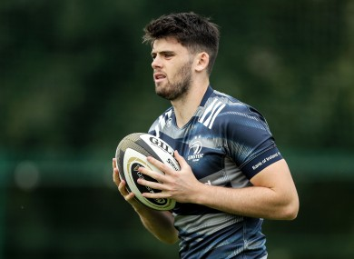 Harry Byrne will make his first start for Leinster against Dragons on Friday.