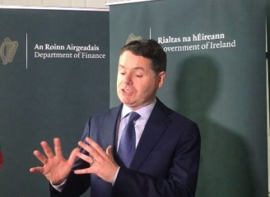 Finance and Public Expenditure Minister Paschal Donohoe has a long weekend of talks ahead of him.