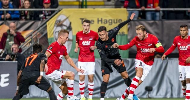 As it happened: AZ Alkmaar v Man United, Europa League
