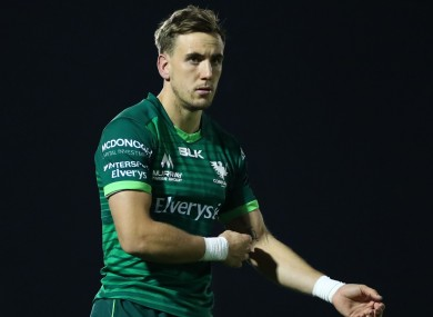 Porch during his debut off the bench at the Sportsground last weekend.