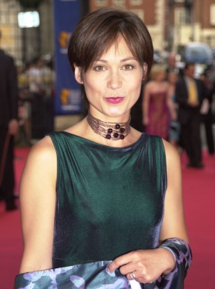 Leah Bracknell in 2001