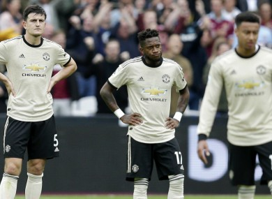 Fred accepts Man United have not been good enough of late.