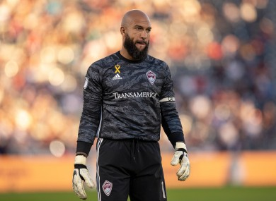 He played his final game for Colorado Rapids last night.