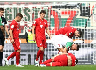 Niklas Sule suffered an ACL tear at the weekend.