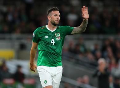 Republic of Ireland defender Shane Duffy.
