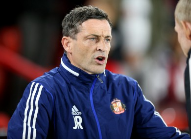 Ross steered Sunderland to back-to-back victories over Premier League opposition in the Carabao Cup this season.