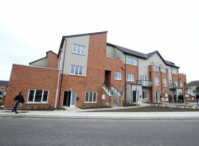 A social housing project in Dublin (file photo)