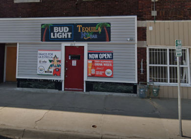 The bar where the shooting occurred.