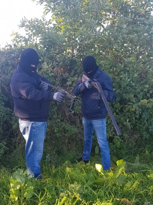 One of the pictures gardaí are investigating.