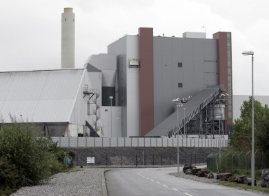 The ESB power station in Shannonbridge, Co Offaly.