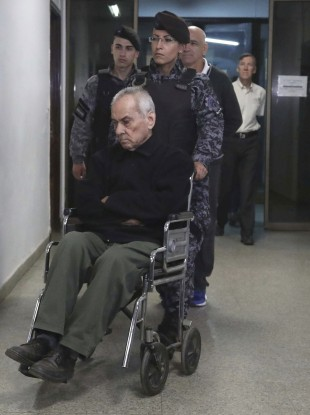 Nicola Corradi (in wheelchair)