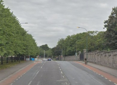 File photo near where the accident happened on Constitution Hill in Dublin.