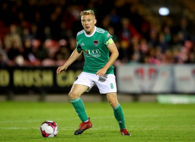 Conor McCormack is among the players set to leave Cork City..