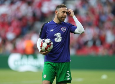 Keogh could be out for as long as 15 months.