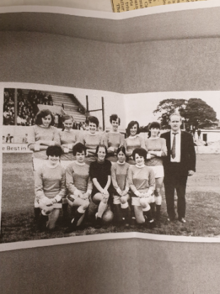The Dundalk Ladies football team were one of the founding members of the WFA.