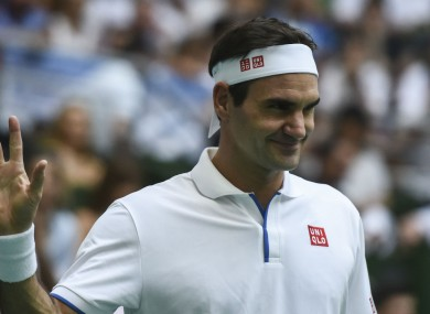 Roger Federer has no plans to retire