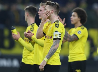 Reus: embarrassed despite late equaliser.