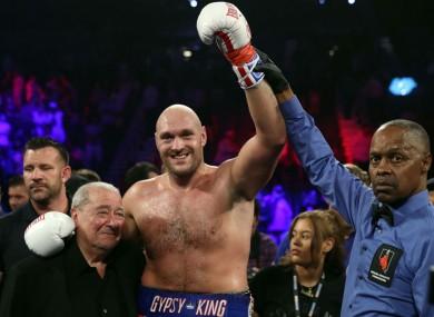 Tyson Fury has hit back at UFC president Dana White.
