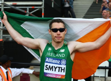 Ireland's Jason Smyth [file pic].