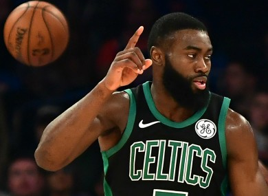 Jaylen Brown of the Boston Celtics.