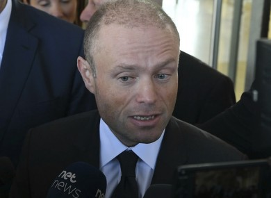 Maltese PM Joseph Muscat denies any involvement in the murder.