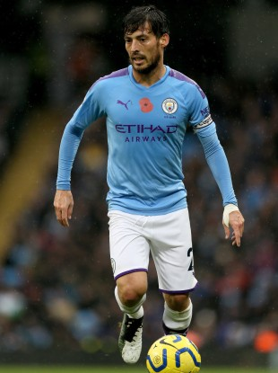 City skipper David Silva.
