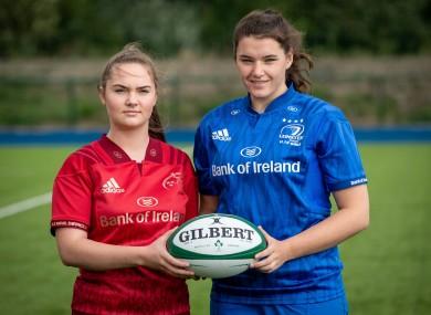 Judy Bobbett (right) at last August's Women's Under 18 Series Launch.