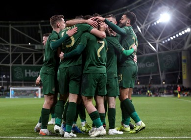 Ireland will play in Group E should they qualify for the Euro 2020 finals.