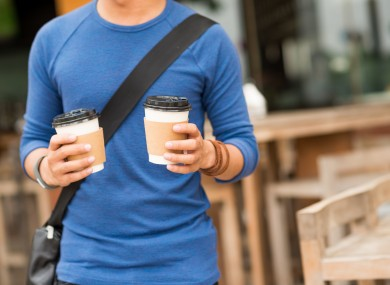 The cost of takeaway coffee would rise if the levy is introduced.
