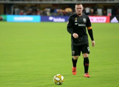 Wayne Rooney had an eventful time in Washington.