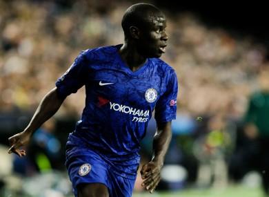 Ngolo Kante of Chelsea FC (file pic).