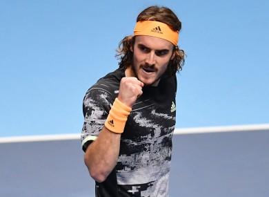 ATP Finals champion Stefanos Tsitsipas